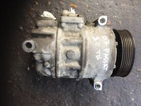 07 VW PASSAT 2.0 TDI AIRCON PUMP WORKING AND TESTED