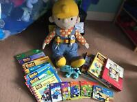 Bob the Builder soft toy and book bundle