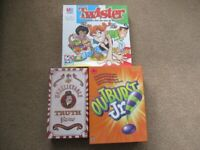 Collection of classic board games bundle (Twister, Fuzzy Felt etc)