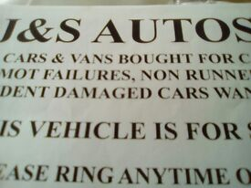 J & S Autos motors wanted