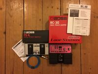 BOSS RC30 + FS6 (charger & cable included)