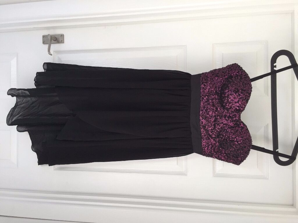 Lipsy dressin Frenchay, BristolGumtree - New Lipsy dress. Size 10. Never worn, still with tags. Purple sequin top part, black chiffon bottom part
