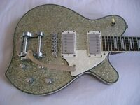 Aria pro II M-650T electric guitar - Korean - Circa late '90s - Silver sparkle - Yoshi Futura