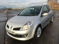 09 RENAULT CLIO 1.2 DYNAMIQUE S TURBO IMMACULATE NOW ONLY £1999