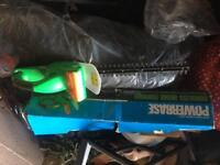 Powerbase cordless hedge trimmer used once