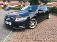 2009 Audi A6 2.0 tdi 6 speed manual facelift model non smoker very smooth £ 4300