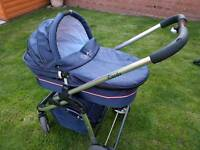BARGAIN £30 for iCandy pushchair , carrycot + accs