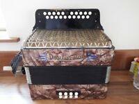 Hohner Double Ray BC Tunning accordion