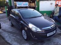 1 OWNER 2013 VAUXHALL CORSA 1.2 ENERGY AC 19200 GENUINE MILES FINANCE £500 DEPOSIT £132 X 48 MONTHS
