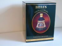 Bell's decanter . Christmas 1996 Export version