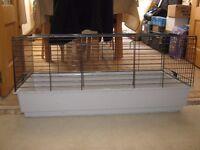 Indoor Rabbit Hutch 970 lenght x 500 width x470 height mm