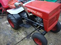 tractor bolens model 850 petrol engine start on electric ready to use