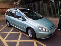 Peugeot 307 2.0 HDI left hand drive fos sale or swap