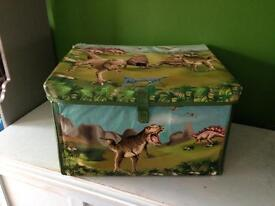 Dinosaurs Toy box/play matt