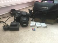 Canon 700d and accessories