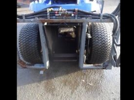Iseki 30 hp Diesel compact tractor with a 250 Lewis front loader