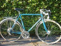 Peugeot retro road bike.