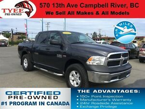2013 Ram 1500 SXT 4x4 Satellite Radio
