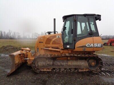 2011 Case 850l Crawlerdozer Cabheatair 6-way-blade Hystat 9346 Hours
