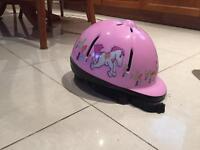 Girls horse riding hat