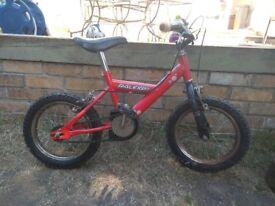 Child's bike aged 3-5
