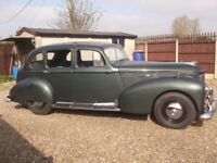 Humber Super Snipe, 1951, Green, Original Number Plate & Condition