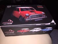 Classic Mini Cooper Wireless Mouse in Red with White Roof - Excellent & Boxed !