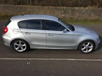 *PRICE DROP *BMW 1 SERIES , LOW MILES , 2 LADY OWNERS , ISOFIX