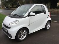 Smart fortwo 2013 low mileage, excellent condition and very well looked after