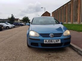 VW 1.6 golf is in good condition inside and out. The car comes with part service history, MOT 06/18.