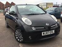 NISSAN MICRA 1.6 C+C 2007 + 12 MONTHS MOT + DRIVES SUPERB + CONVERTIBLE