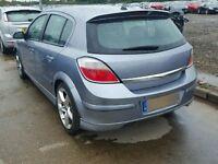 Astra h sri 2007 5 door rear bumper silver lightning z163 07594145438