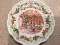 Brambly Hedge collectible plates