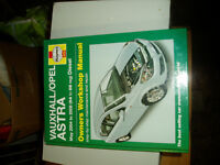 vauxhall astra diesel workshop manual may 2004/2008