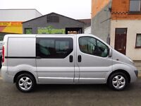 Finance Available & NO VAT Vauxhall Vivaro SWB Sportive 6 seat factory fitted crew cab 63 plate (2)