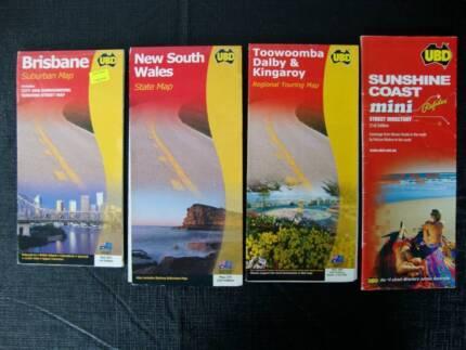 Road Maps - Brisbane/NSW/Toowoomba/Dalby/Kingaroy/Sunshine Coast