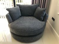 Large Snuggle Chair with Cushions x 2