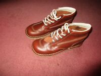 Brown Kickers Size 7