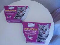 Cat bowls - £3