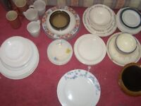 c rockeries , cutleries may items, huge clearance, cups, E12 6LB. 0.50 each