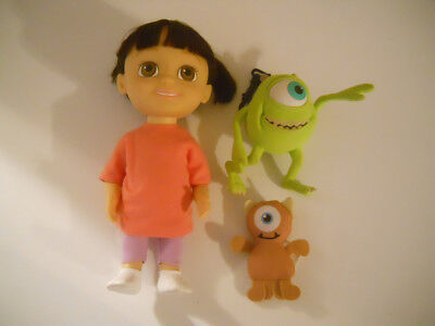 Disney Monsters Inc BABBLIN BOO DOLL TALKS LAUGHS SINGS  & Mikey & Mike clip on for sale  Fresno