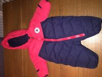 Converse Baby pram suit unisex up to 3 months