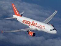 Easyjet Ticket / 2 Adults & 1 Child / (Luton - Lisbon) 23.10.18 One Way - L@@K!!