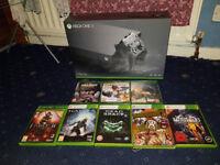 Xbox One X 1TB Bundle (Brand New & Sealed) 8 Games 3 Sealed Xbox One Games 5 Xbox One Compatible