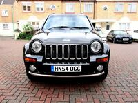 JEEP CHEROKEE 2.8 CRD AUTOMATIC LIMITED SW 5 DOOR FSH HPI CLEAR EXCELLENT CONDITION