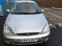 2004 FORD FOCUS GHIA 1.8L -5 DOOR MANUAL FULL SERVICE HISTORY ONE YEAR MOT 2 OWNER FROM NEW
