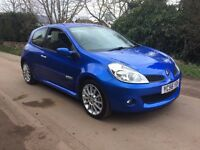56 PLATE RENAULT CLIO 2.0 197 *ONLY 53,000 MILES* *4 OWNERS* *LONG MOT*