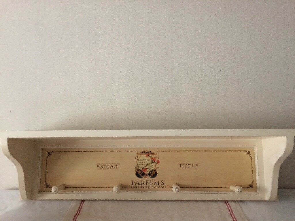 Vintage french style shelf and hanger