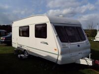 Bailey Ranger 510/4 with full awning only been used 4 times, plus motor mover.