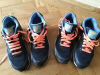 Junior Nike Air Max trainers sizes UK 5 and UK 5.5 - £15 per pair. CASH on collection.